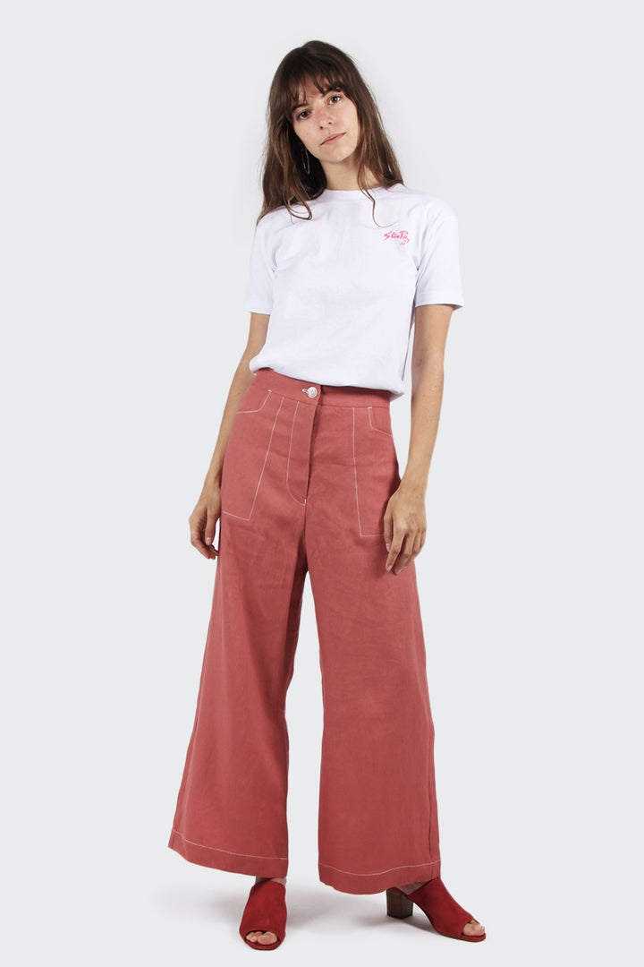 Sister Ariel Pants - quince | GOOD AS GOLD | NZ