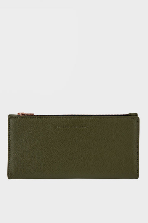 Status Anxiety In The Beginning Wallet - khaki - Good As Gold