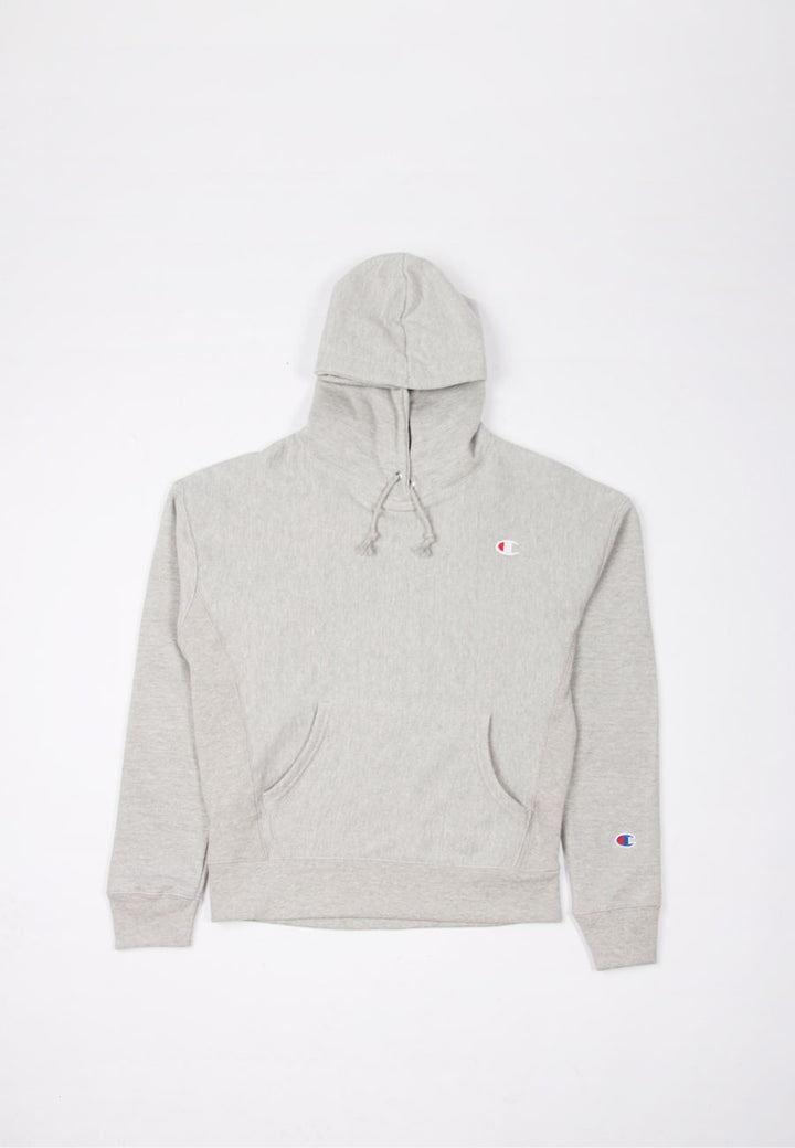 Champion Womens Reverse Weave Hoodie - oxford grey heather | GOOD AS GOLD | NZ