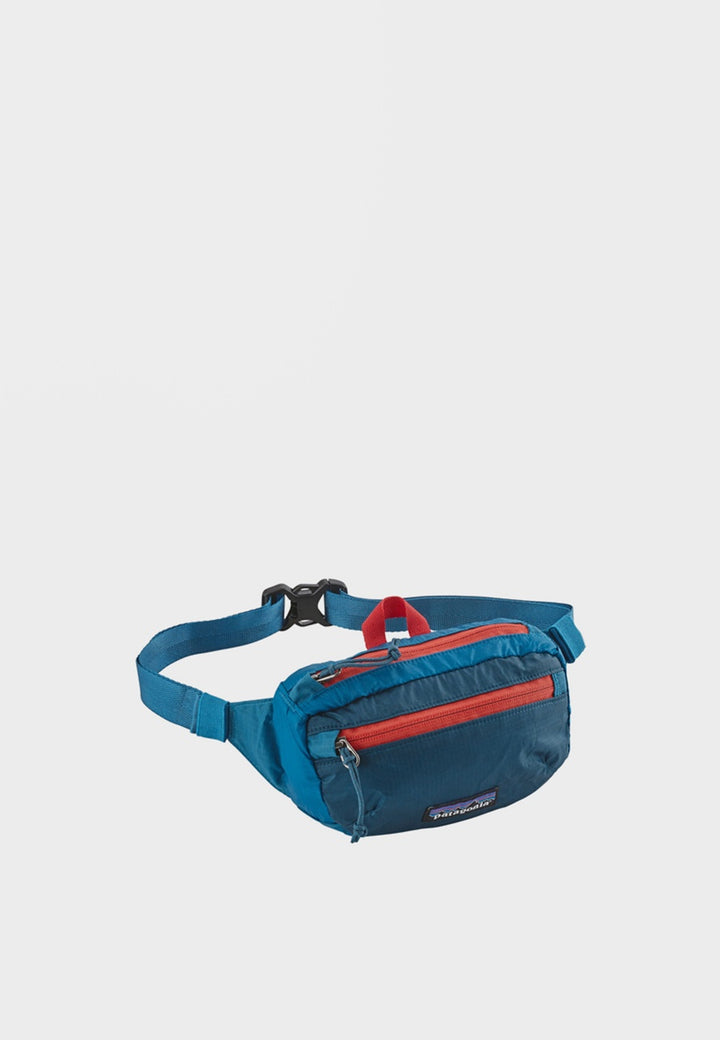 Patagonia Light Weight Travel Mini Hip Pack - balkan blue – Good as Gold