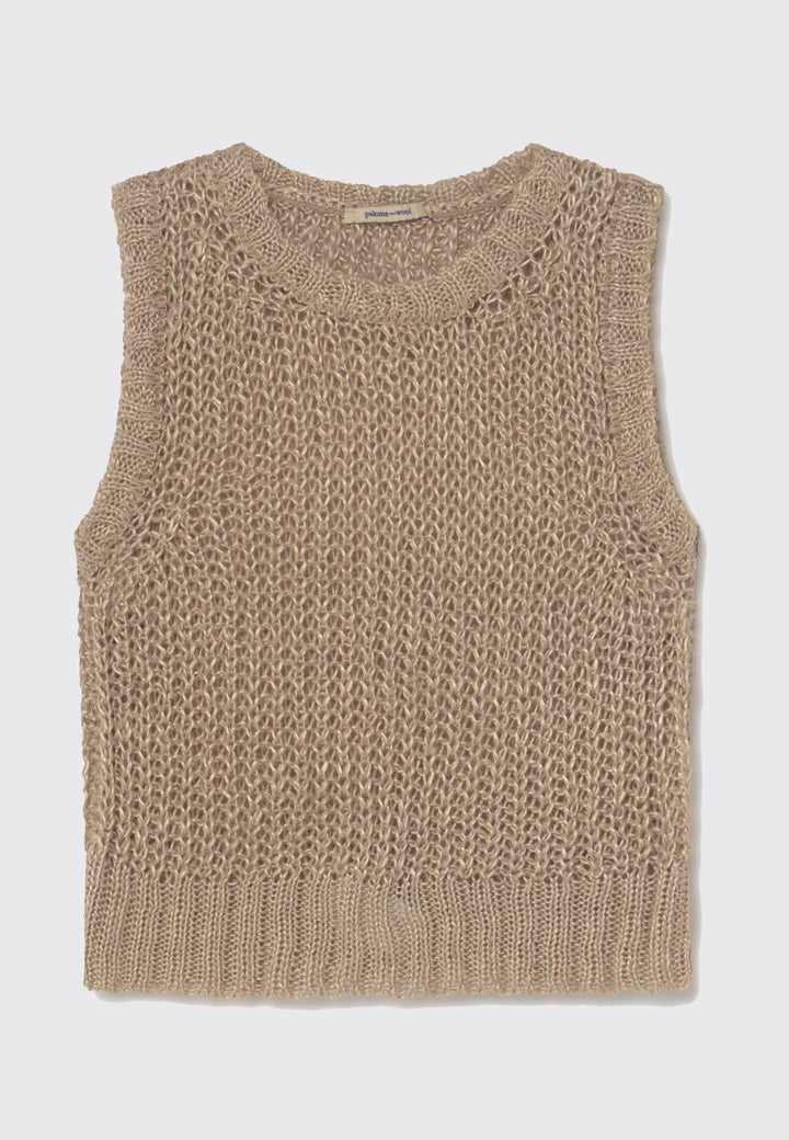 Bulma Tank Knit - natural