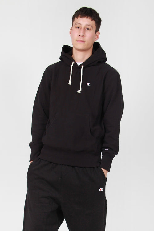 Champion Europe Reverse Weave Hoodie black – Good as Gold