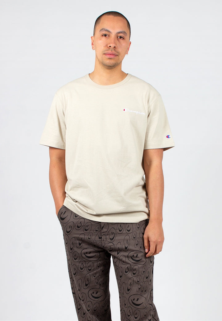 Champion | Script Logo Heritage T-Shirt - cocoa | Good As Gold, NZ
