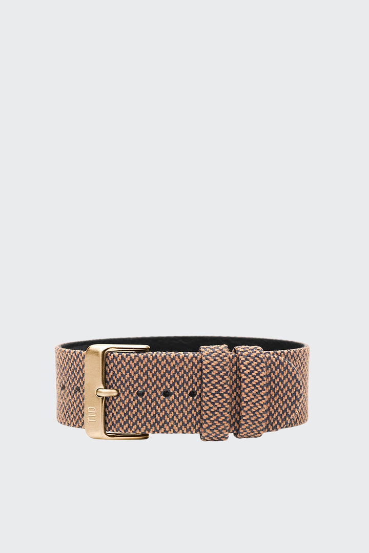 TID Watches Wristband - twain rust/gold buckle | GOOD AS GOLD | NZ
