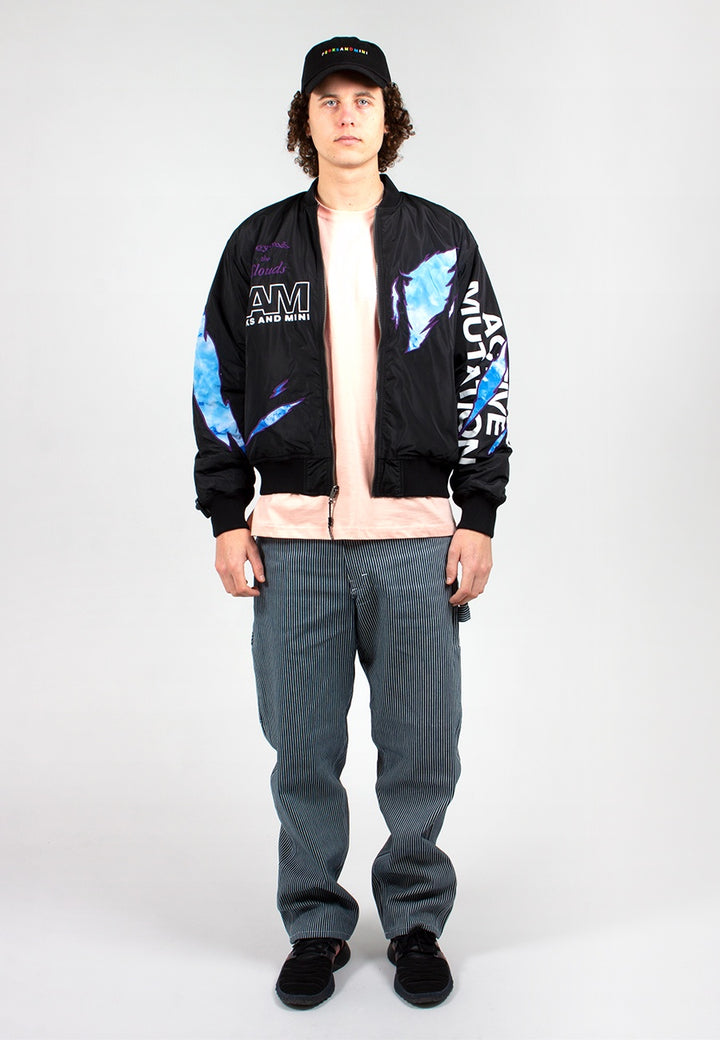 Beyonde Bomber Jacket - black