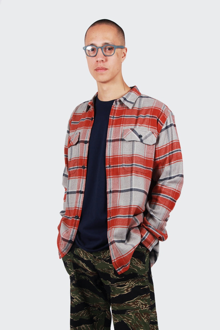 Patagonia Fjord Flannel Shirt - buckstop plaid/roots red | GOOD AS GOLD | NZ