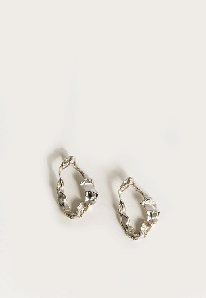 By Nye Agnes Earrings - silver - Good As Gold