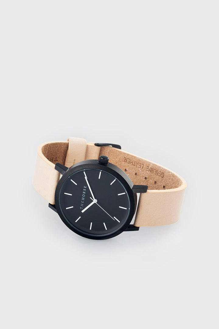 The Horse Original - vegetable tan/black/matte black | GOOD AS GOLD | NZ