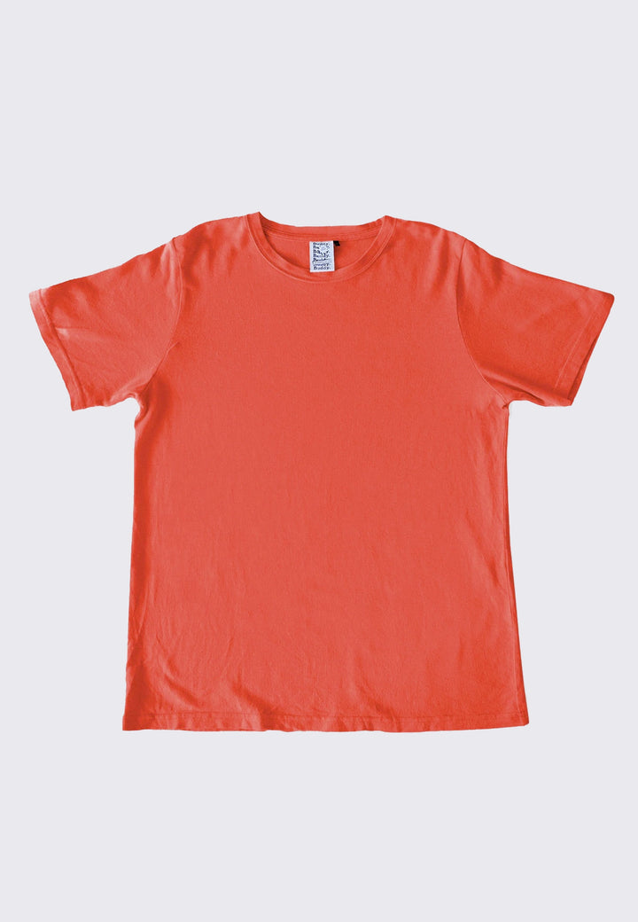Classic Hemp T-Shirt - chilli red