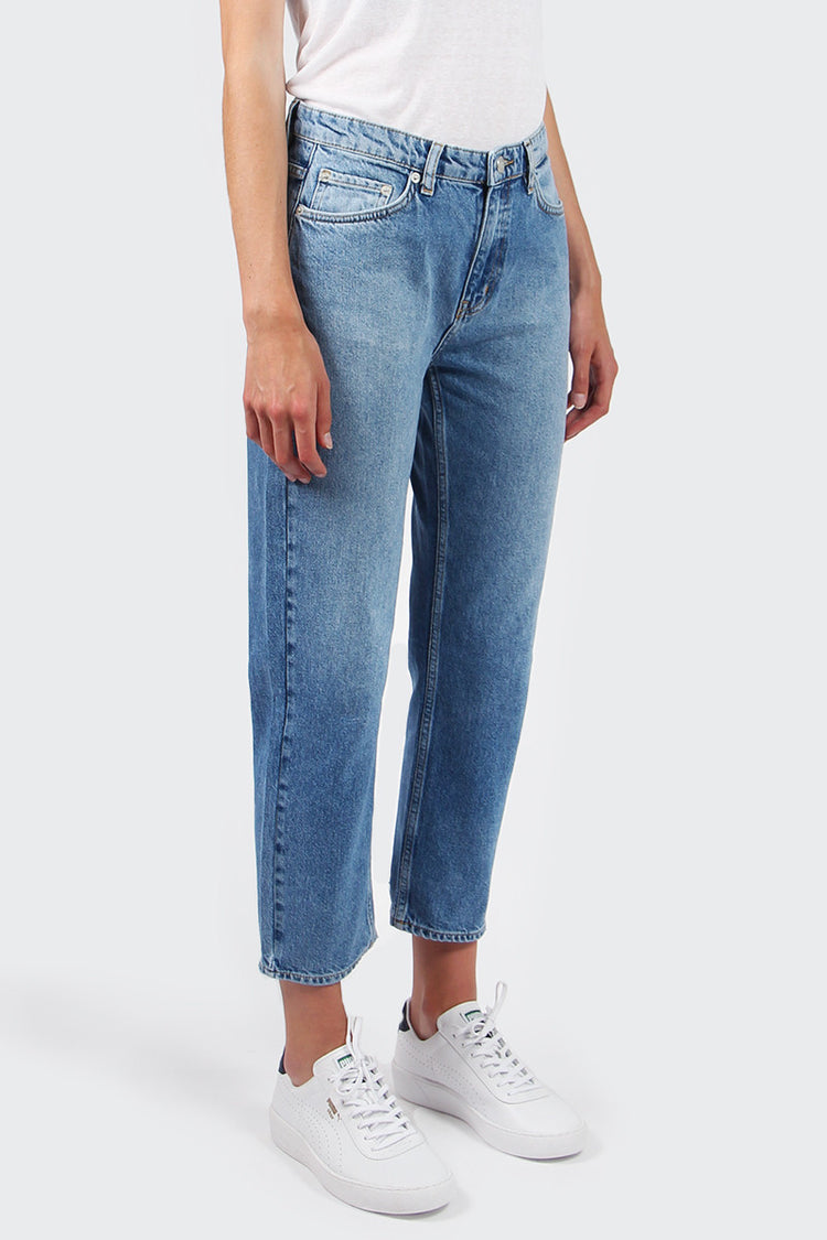 Wood Wood Eve Jeans - classic blue vintage | GOOD AS GOLD | NZ