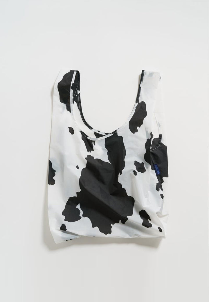 Standard Baggu - black and white cow