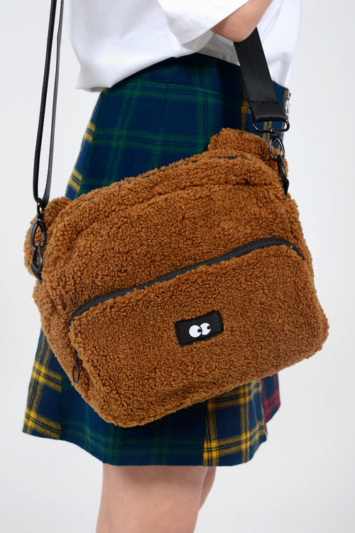Lazy Oaf Teddy Bear Bag - brown - Good As Gold