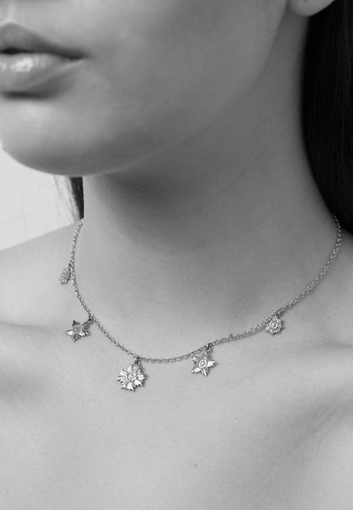 Maiden Necklace - silver
