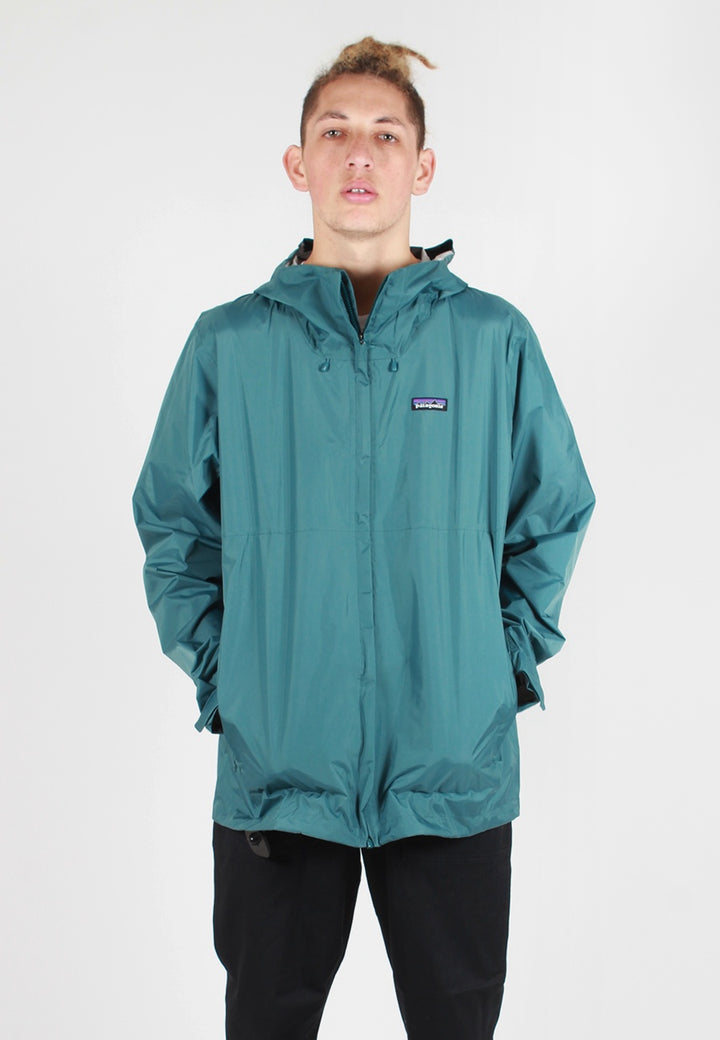 Patagonia Torrentshell Jacket - tasmanian teal - Good As Gold