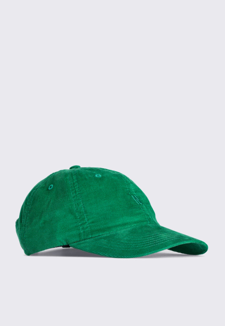Baby Corduroy Sports Cap - sporting green