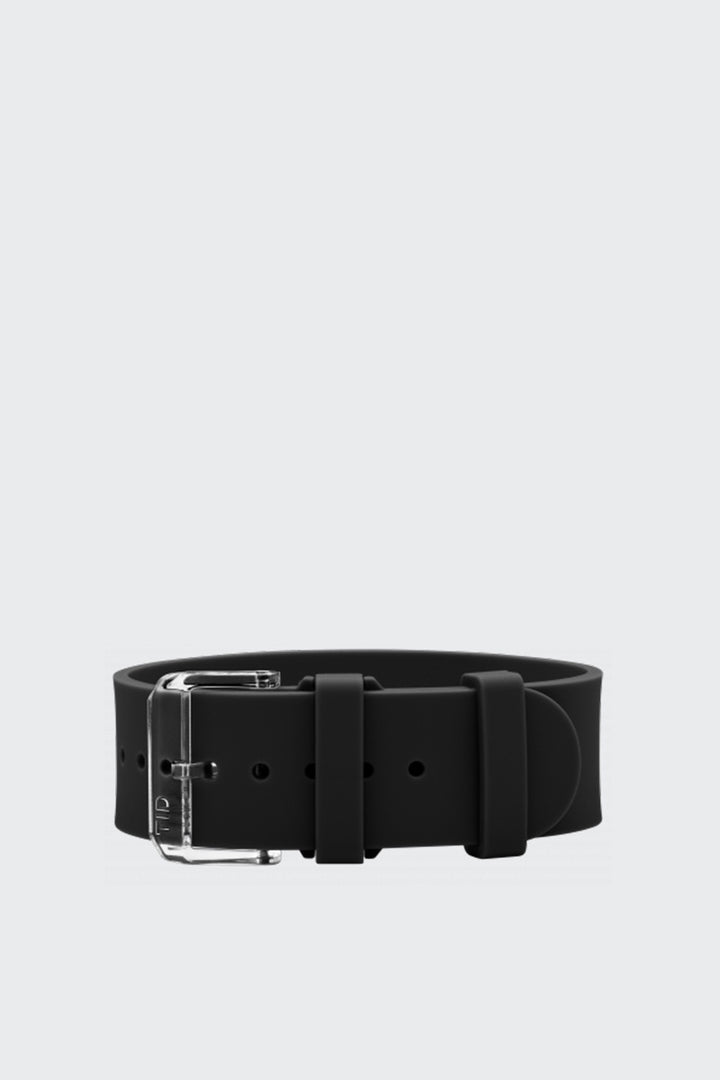 TID Watches Wristband - black silicone/clear buckle | GOOD AS GOLD | NZ