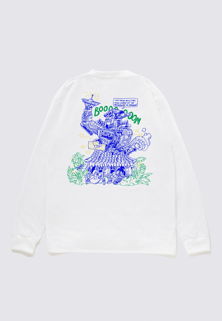 Restaurante Da Japonesa Long Sleeve - white