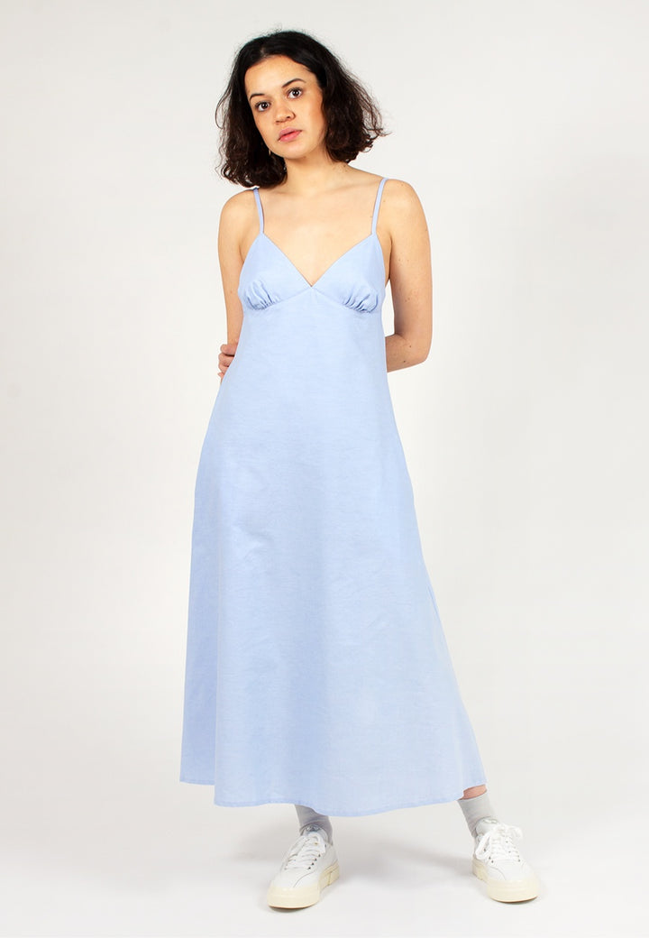 Sunlight Dress - cornflower blue