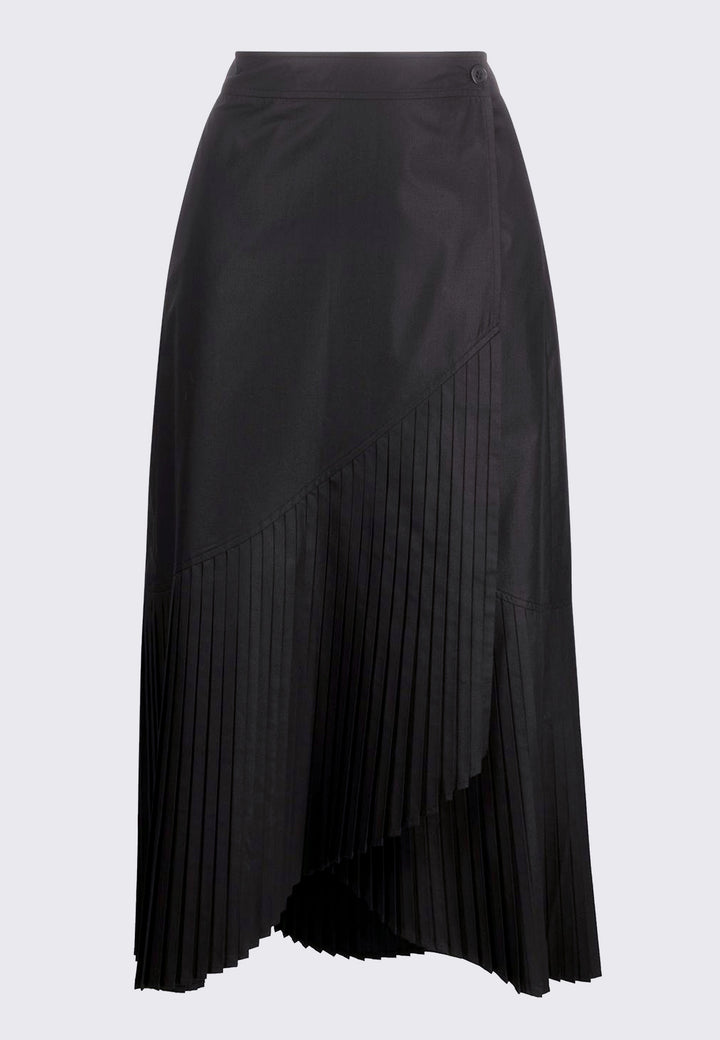 Blaze Skirt Plissé - black