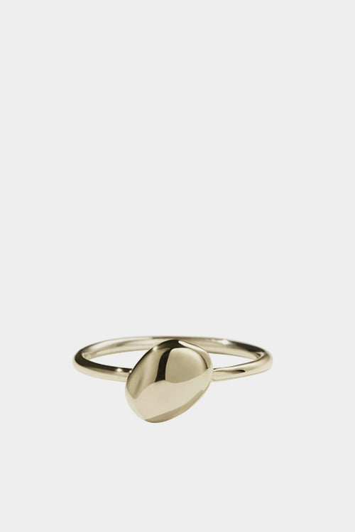 Meadowlark Pebble Stacker Ring - gold