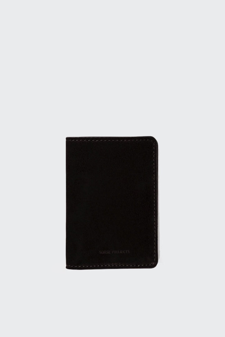 Norse Projects Bastian 10 Wallet - black | GOOD AS GOLD | NZ
