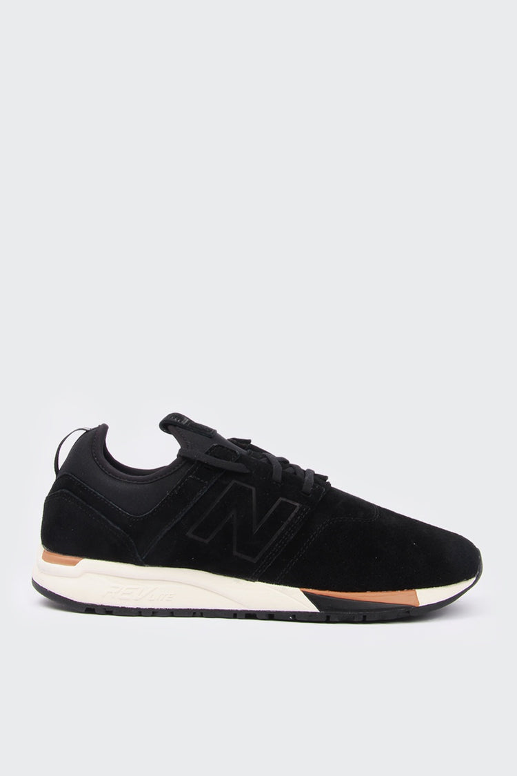 New Balance 247 Luxe - black suede | GOOD AS GOLD | NZ