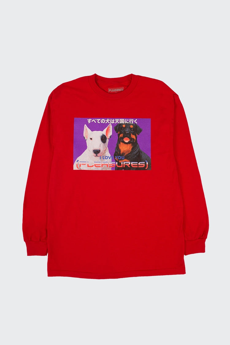 Pleasures Doggiestyle Long Sleeve T-Shirt - red | GOOD AS GOLD | NZ