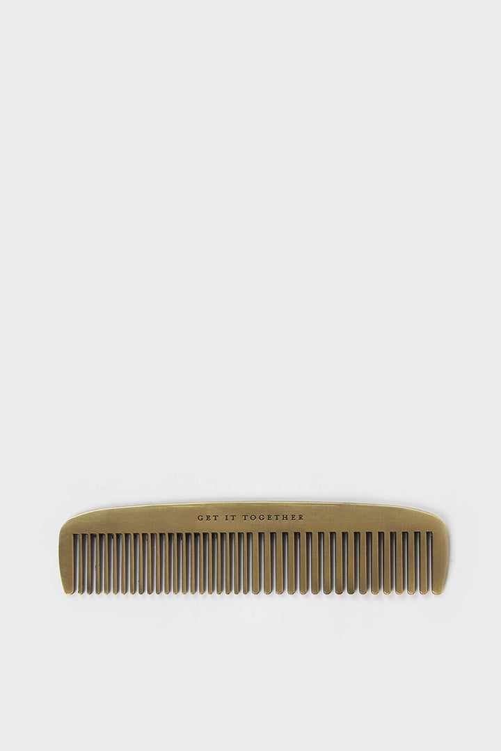 Izola, Get It Together Brass Comb | GOOD AS GOLD | NZ