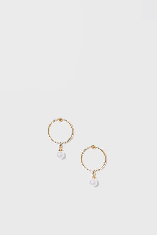 WOS Pearly Earrings - gold/pearl - Good As Gold