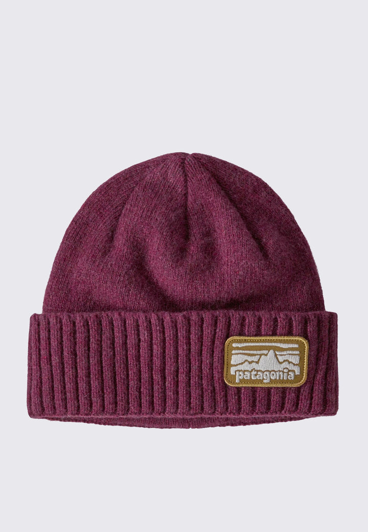 Brodeo Beanie - fitz roy rambler/chicory red