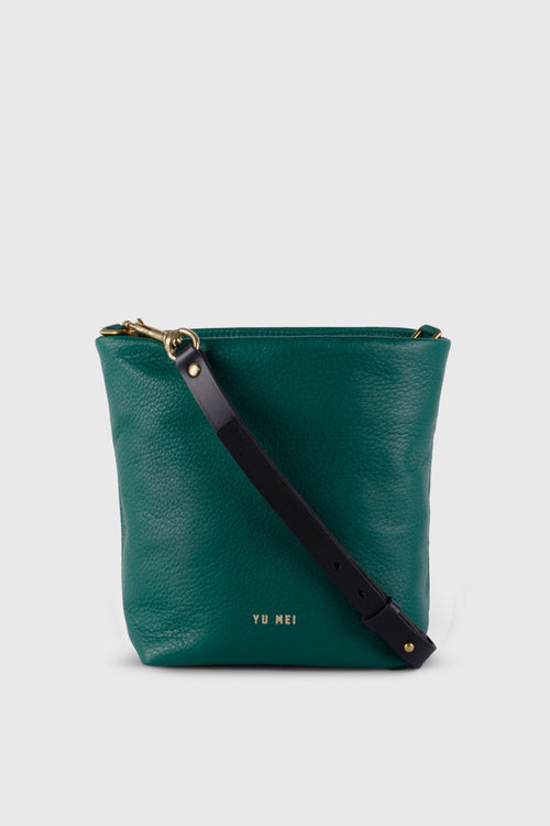 Yu Mei 2/6 Grace Bucket Bag - bottle green – Good as Gold