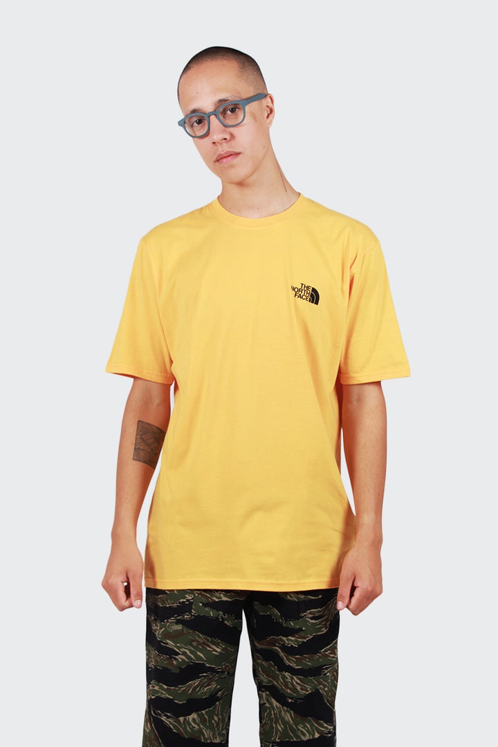 The North Face Red Box T-Shirt - yellow/black | GOOD AS GOLD | NZ