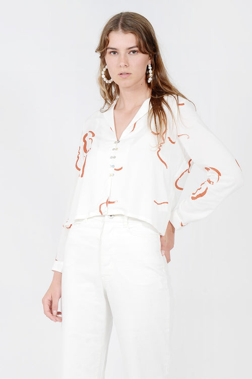 Paloma Wool Catidori Shirt - off white — Good as Gold