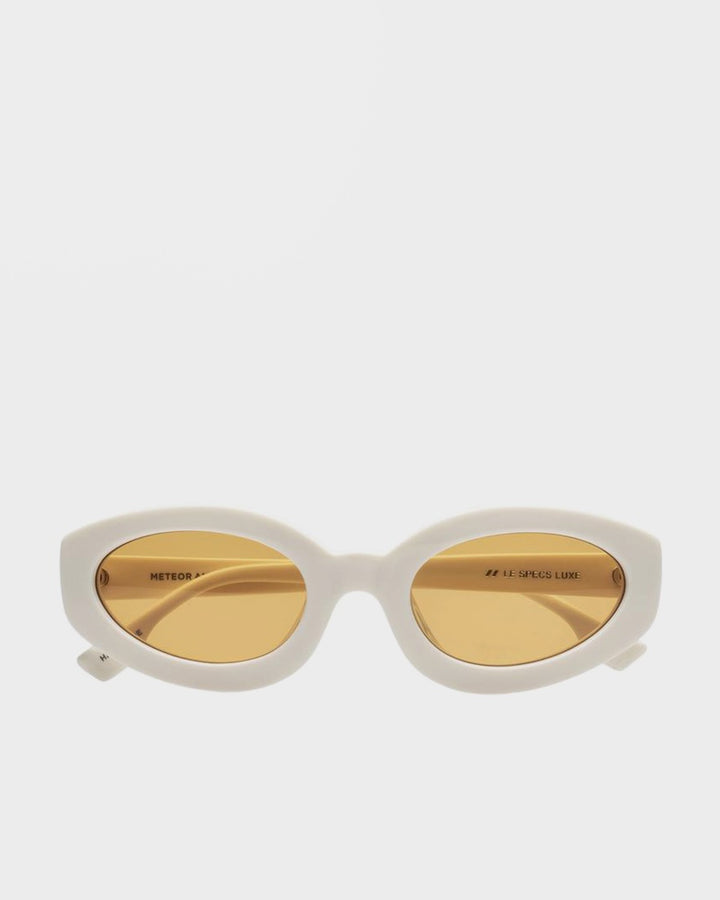 Le Specs Meteor Amour Sunglasses - vintage white - Good As Gold