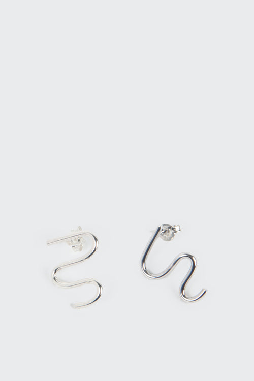 27 Mollys Dome Earrings - silver | GOOD AS GOLD | NZ