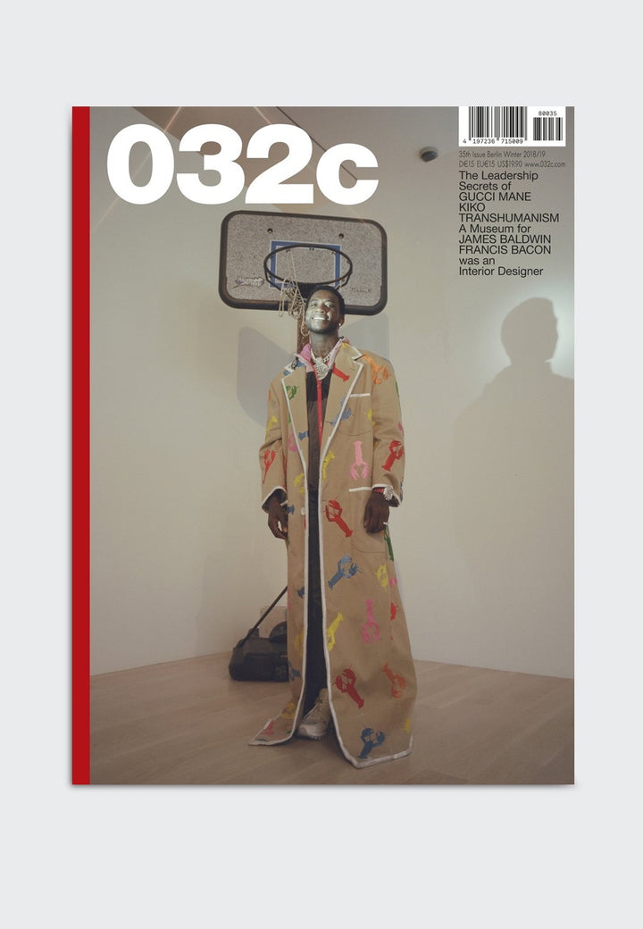 032c Issue 35: A Museum For James Baldwin — Good as Gold