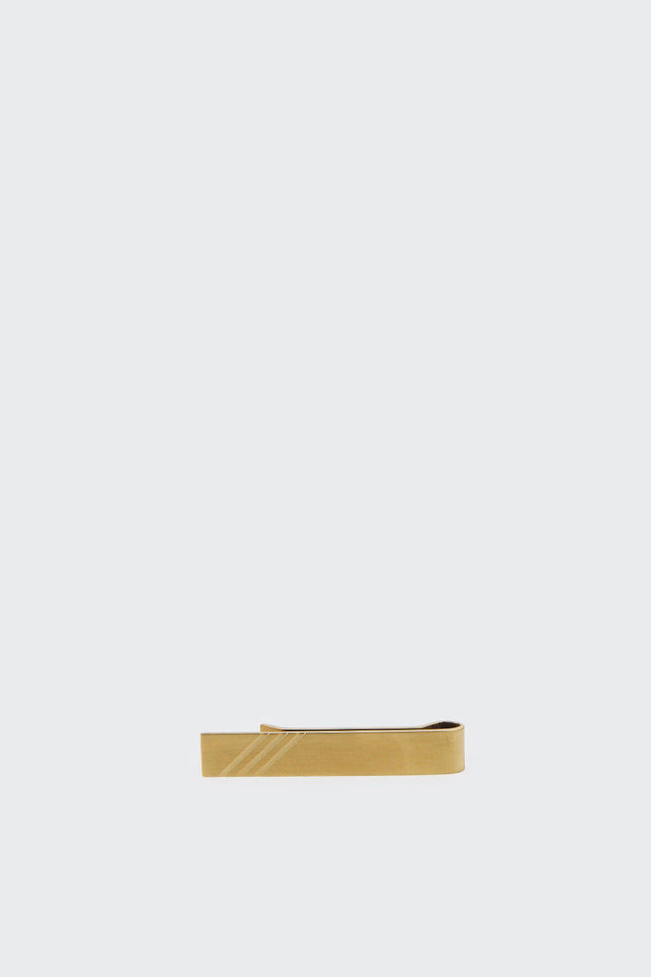 Izola Best Day Ever Tie Clip - brass | GOOD AS GOLD | NZ