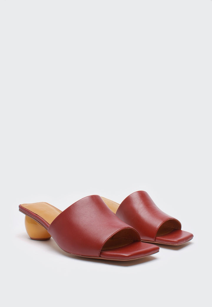 Jagger Orb Heel - aubergine — Good as Gold