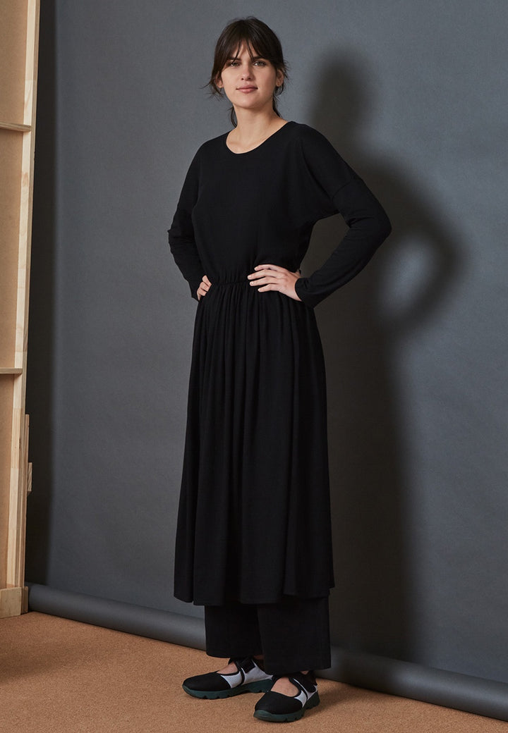 Kowtow Building Block Dancer Dress - black — Good as Gold
