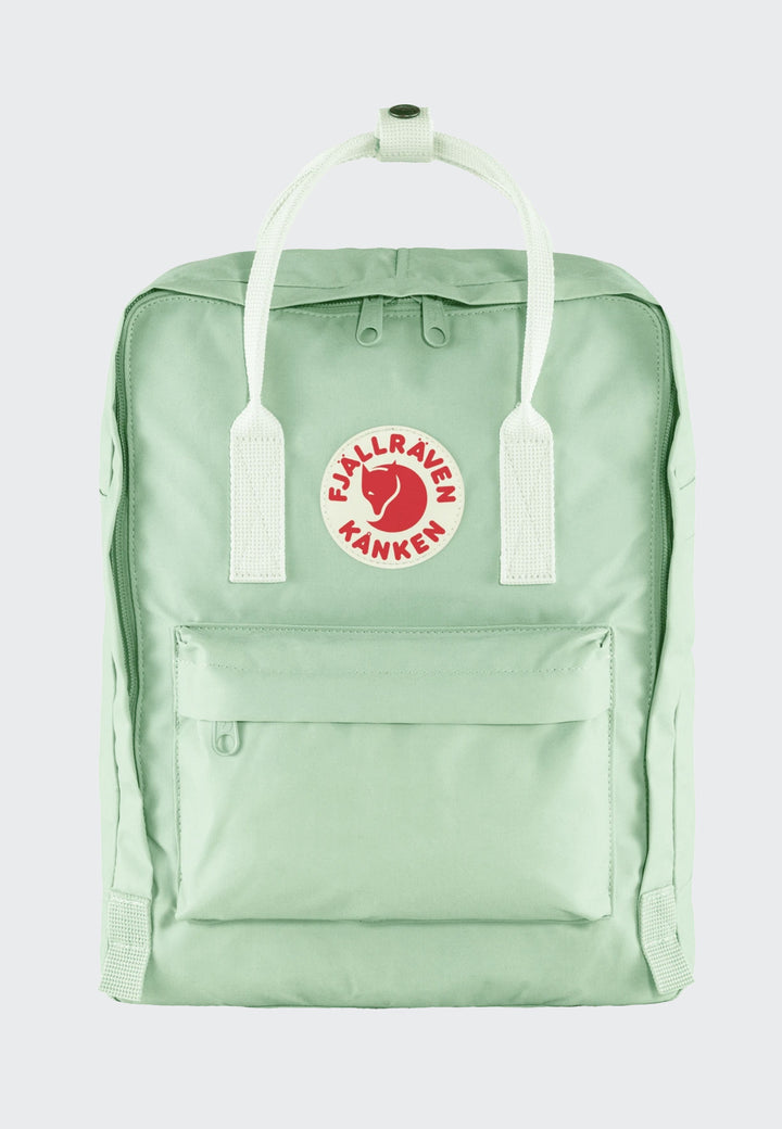 Kanken Backpack - mint green/cool white