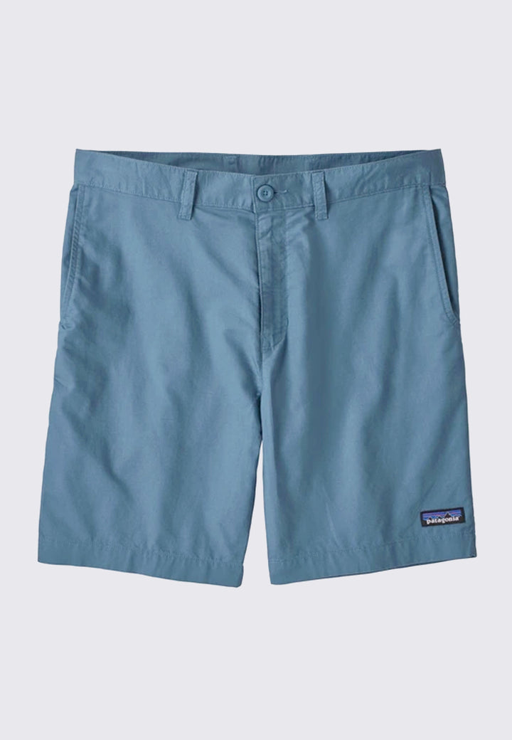 8inch Light Weight All-Wear Hemp Shorts - pigeon blue