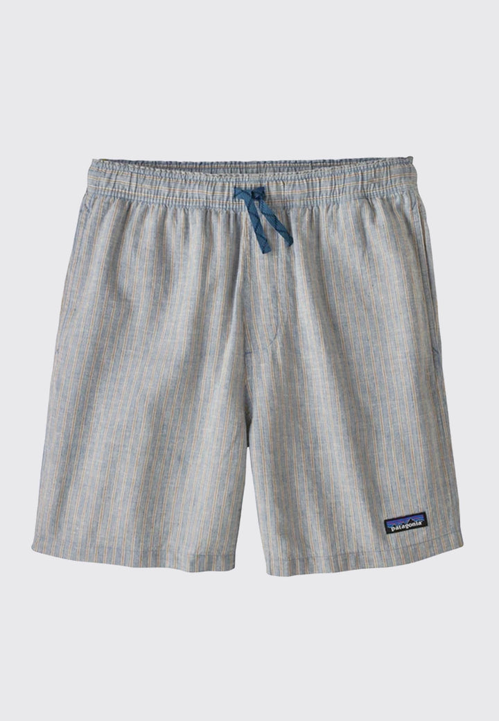 Baggies Naturals Shorts Bale Stripe - pigeon blue