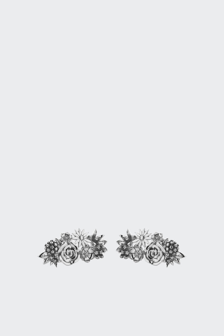 Meadowlark Overgrown Stud Earrings - silver | GOOD AS GOLD | NZ