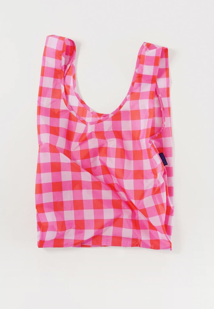 Baggu | Standard Baggu - big check magenta | Good As Gold, NZ