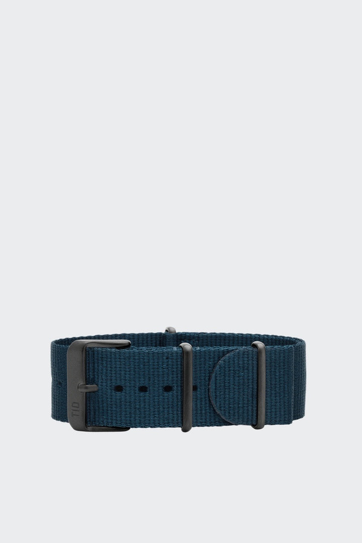 TID Watches Wristband - blue nylon/black buckle | GOOD AS GOLD | NZ