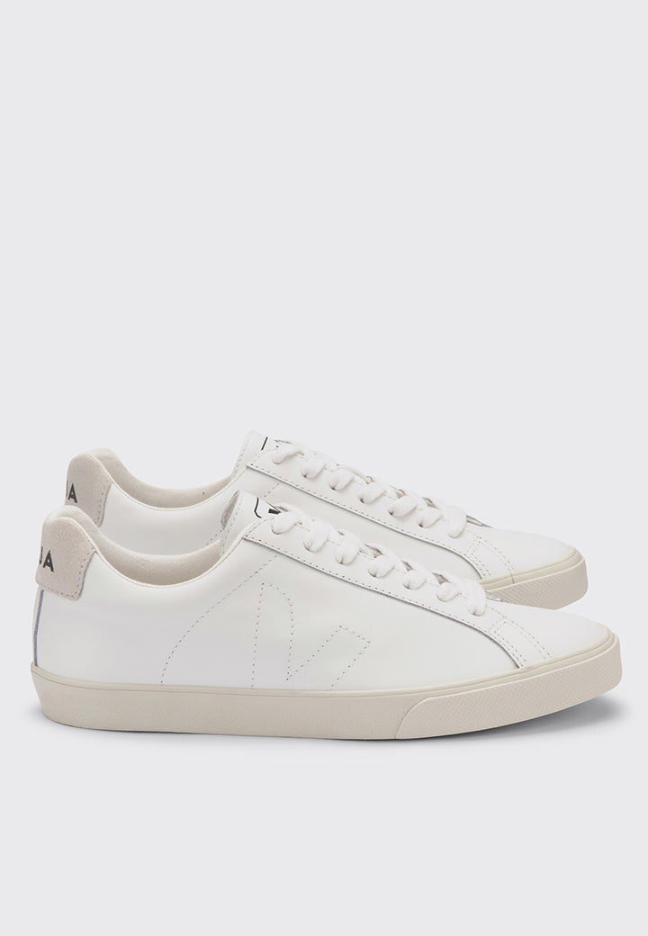 Veja | Esplar Low Leather - extra white | Good As Gold, NZ