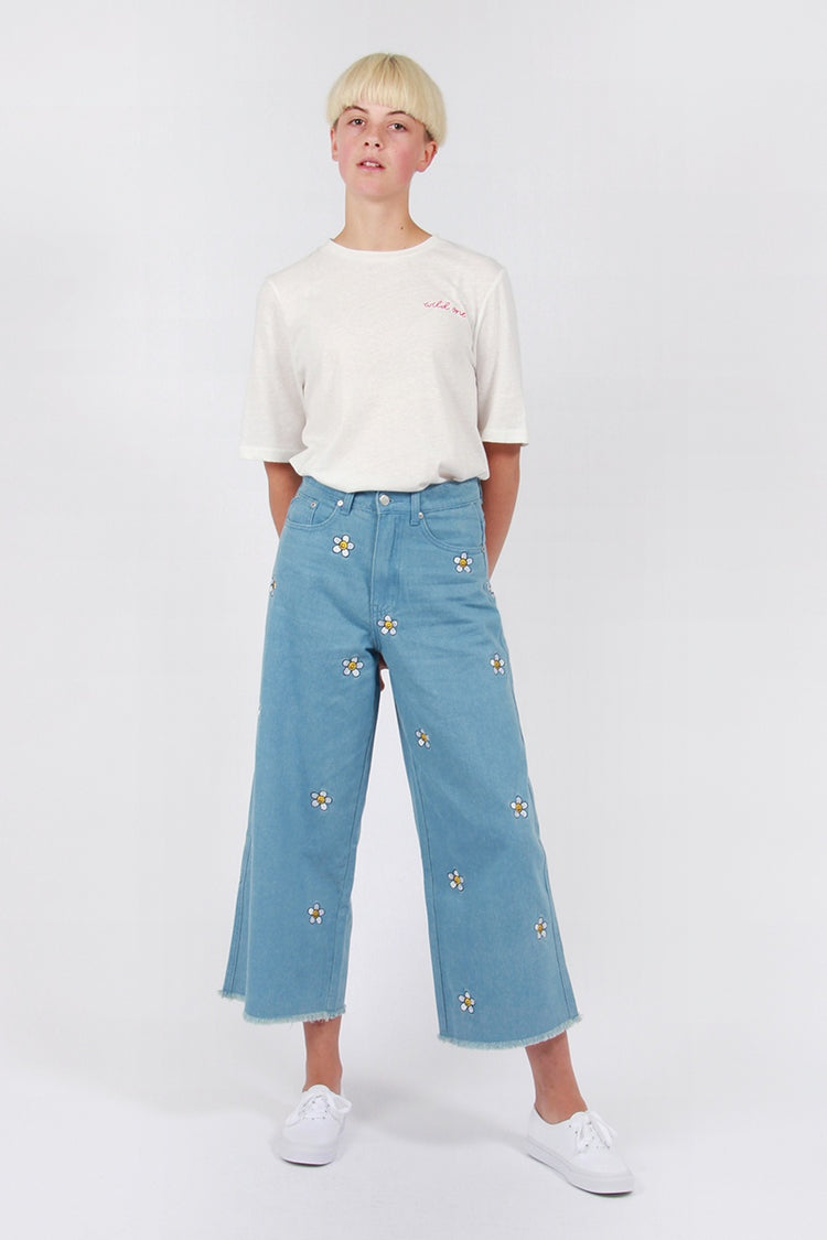 Lazy Oaf Daisy Jeans - blue | GOOD AS GOLD | NZ