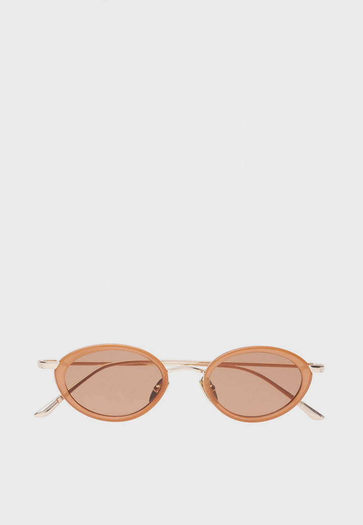 Le Specs Boom Sunglasses - gold/ochre - Good As Gold