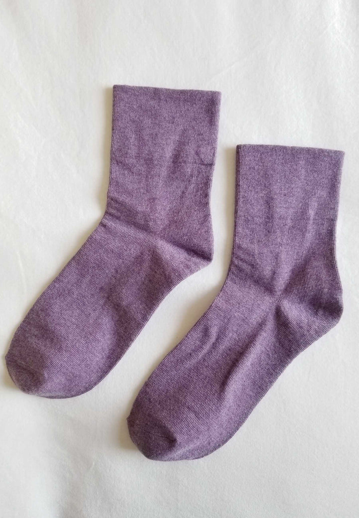Sneaker Socks - purple