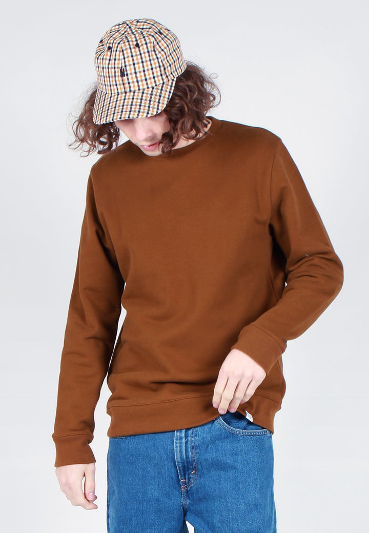 Norse Projects Vagn Classic Crew Sweater - russet - Good As Gold